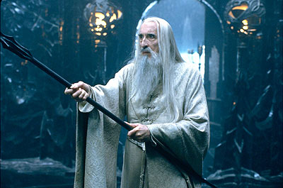 check out 2079f ad5dc Oooh, Christopher Lee oozes malevolence as Saruman.